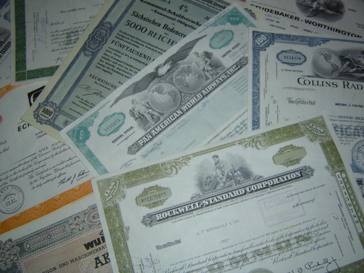 Правила начисления скидок на разные виды ценных бумаг