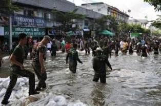 Ущерб от наводнения в Бангкоке оценят независимые эксперты