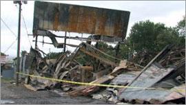 Оценка ущерба от пожара в «General Truck Body Company» - 1,5 млн. долларов