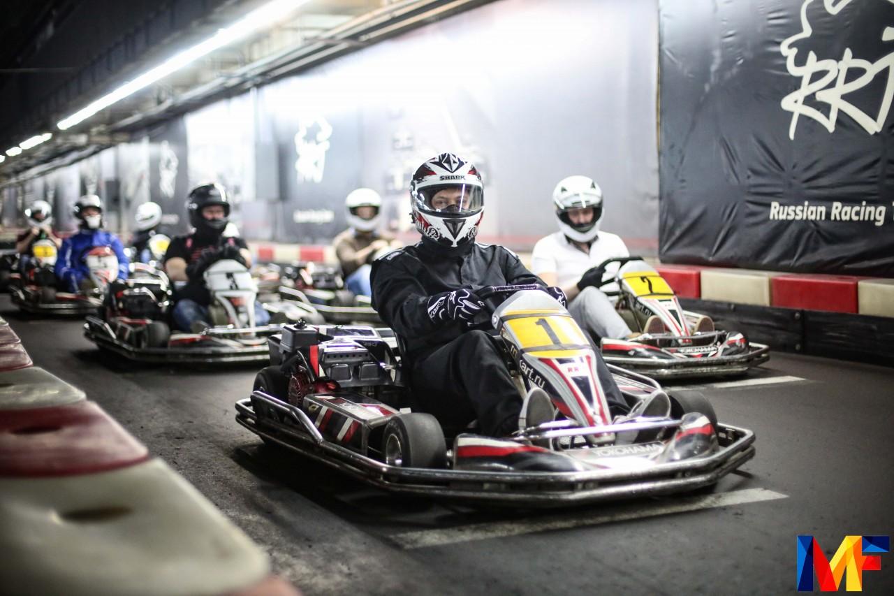 Команда ABN GROUP приняла участие в «Financial Karting Cup» -Новости