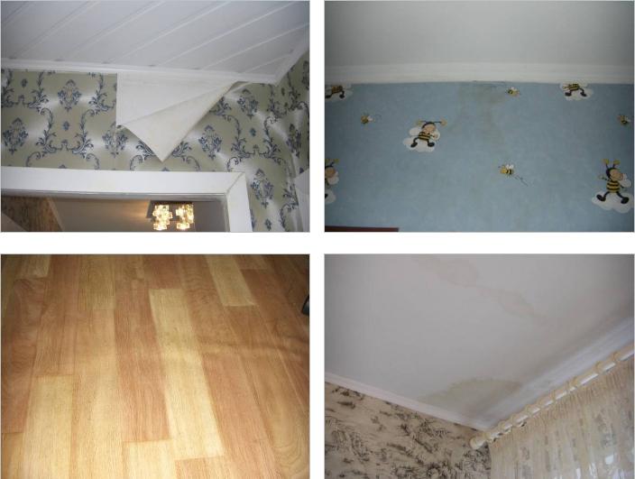 Оценка квартиры в г. Троицке, пострадавшей от залива / Истории наших клиентов / Оценочная организация АБН-Консалт, оценка ущерба, независимая оценка стоимости бизнеса