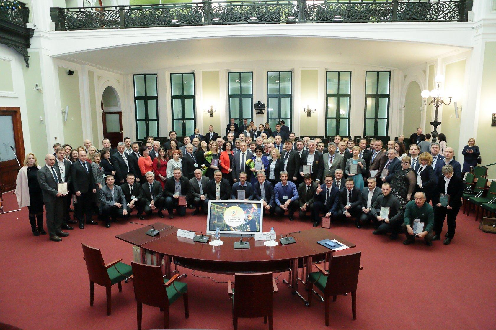 Проект ABN-Group победил в конкурсе «100 проектов под патронатом Президента ТПП РФ»!